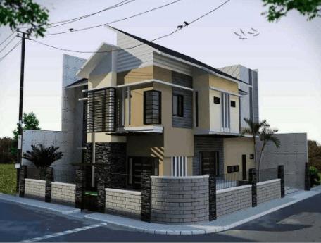 Pagar Tembok Rumah Minimalis Type 36 Paling Mantap 2020