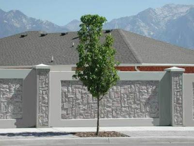 36 Model Pagar Tembok Samping Rumah Minimalis Modern Yang Terbaru Calonarsitek Com