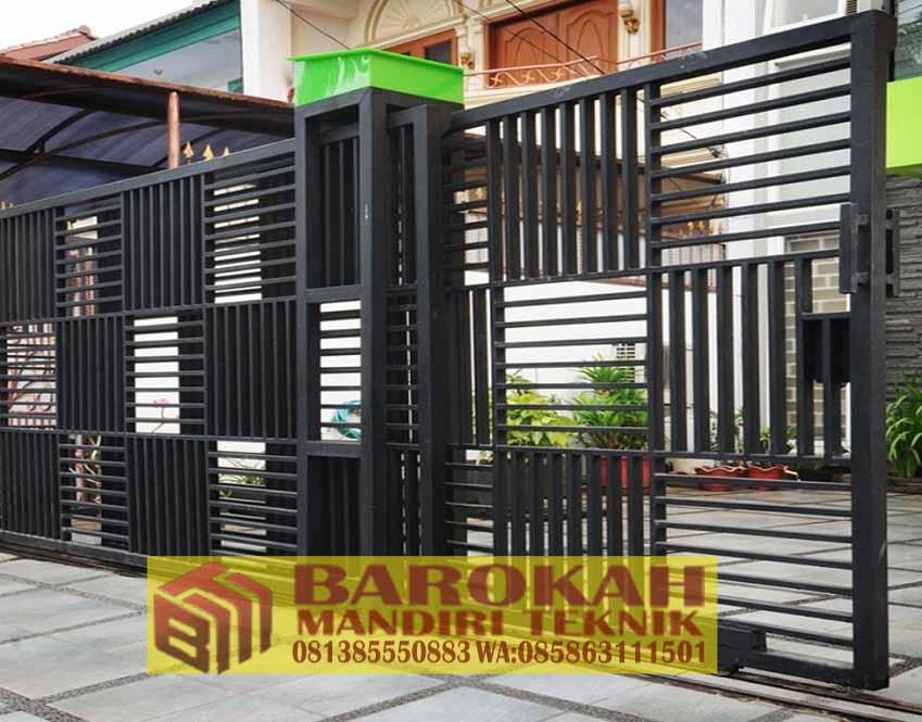 Pagar Minimalis Murah 081297736417 Barokah Mandiri Teknik I Info 081297736417